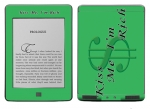 Amazon Kindle Touch Skin :: Kiss Me Rich