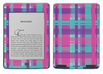 Amazon Kindle Touch Skin :: Candy Shop Plaid