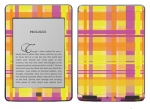 Amazon Kindle Touch Skin :: Sun Kissed Plaid