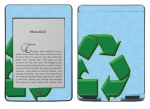 Amazon Kindle Touch Skin :: Recycle