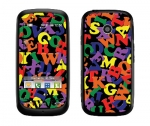 LG Cosmos Touch Skin :: Alphabet Soup