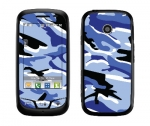 LG Cosmos Touch Skin :: Camo Blue