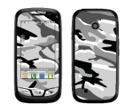 LG Cosmos Touch Skin :: Camo Snow