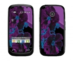 LG Cosmos Touch Skin :: Cosmic Flowers 1