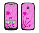 LG Cosmos Touch Skin :: Floating Hearts