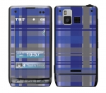 LG Dare Skin :: Oceans Deep Plaid