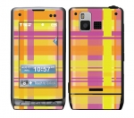 LG Dare Skin :: Sun Kissed Plaid