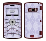 LG enV3 Skin :: Argyle Purple