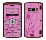LG enV3 Skin :: Floating Hearts