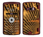 LG enV3 Skin :: Splatter Orange
