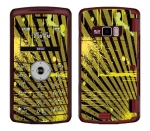 LG enV3 Skin :: Splatter Yellow