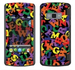 LG enV Touch Skin :: Alphabet Soup