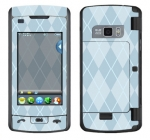 LG enV Touch Skin :: Argyle Blue