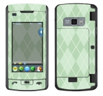 LG enV Touch Skin :: Argyle Green