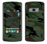 LG enV Touch Skin :: Camo Green