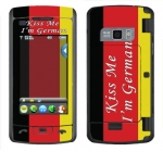 LG enV Touch Skin :: Kiss Me German