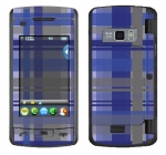 LG enV Touch Skin :: Oceans Deep Plaid