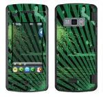LG enV Touch Skin :: Splatter Green