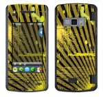 LG enV Touch Skin :: Splatter Yellow