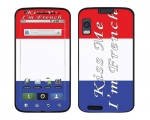 Motorola Atrix Skin :: Kiss Me French