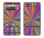 Motorola Droid X Skin :: Color Blast