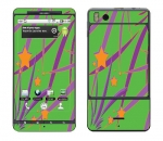 Motorola Droid X Skin :: Floating Stars
