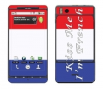 Motorola Droid X Skin :: Kiss Me French