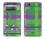 Motorola Droid X Skin :: Punk Rock Plaid