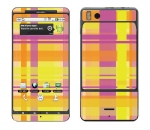 Motorola Droid X Skin :: Sun Kissed Plaid
