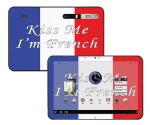 Motorola Xoom Skin :: Kiss Me French