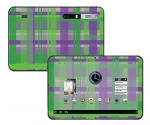 Motorola Xoom Skin :: Punk Rock Plaid