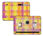 Motorola Xoom Skin :: Sun Kissed Plaid