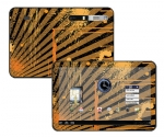 Motorola Xoom Skin :: Splatter Orange