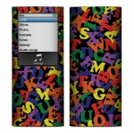 Apple Nano 4th Gen Skin :: Alphabet Soup