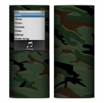 Apple Nano 4th Gen Skin :: Camo Green