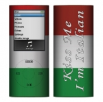 Apple Nano 4th Gen Skin :: Kiss Me Italian