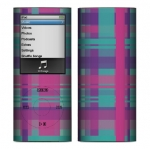 Apple Nano 4th Gen Skin :: Candy Shop Plaid