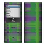 Apple Nano 4th Gen Skin :: Punk Rock Plaid
