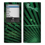 Apple Nano 4th Gen Skin :: Splatter Green