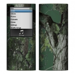 Apple Nano 4th Gen Skin :: Tree Camo Green