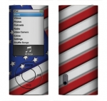 Apple Nano 5th Gen Skin :: American Flag 1