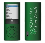 Apple Nano 5th Gen Skin :: Kiss Me Irish