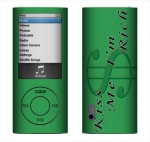 Apple Nano 5th Gen Skin :: Kiss Me Rich