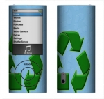 Apple Nano 5th Gen Skin :: Recycle