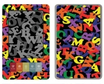 Barnes & Noble Nook Skin :: Alphabet Soup