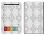 Barnes & Noble Nook Skin :: Argyle Gray