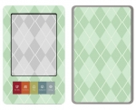 Barnes & Noble Nook Skin :: Argyle Green