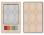 Barnes & Noble Nook Skin :: Argyle Tan
