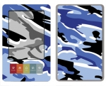 Barnes & Noble Nook Skin :: Camo Blue