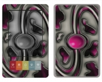 Barnes & Noble Nook Skin :: Cynic Pink